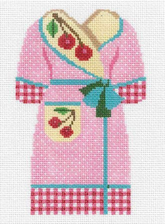 Cherry Bathrobe (Hanger Incl)