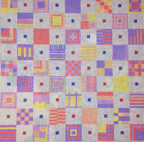 Penny Macleod:PM1050 Warm Pattern 10x10 18M