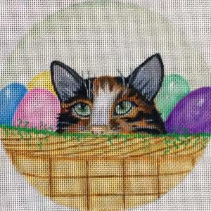 Easter Egg Kitty Green