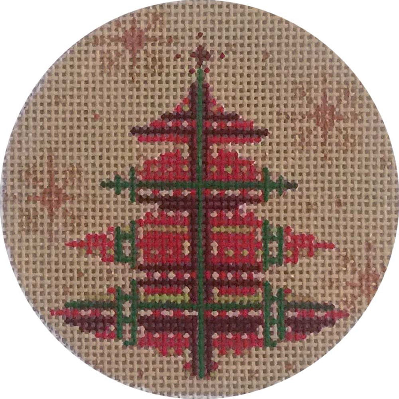 Red & Green Plaid Tree