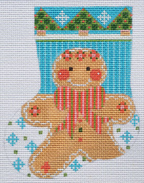 Gingerbread Man Boy Stocking