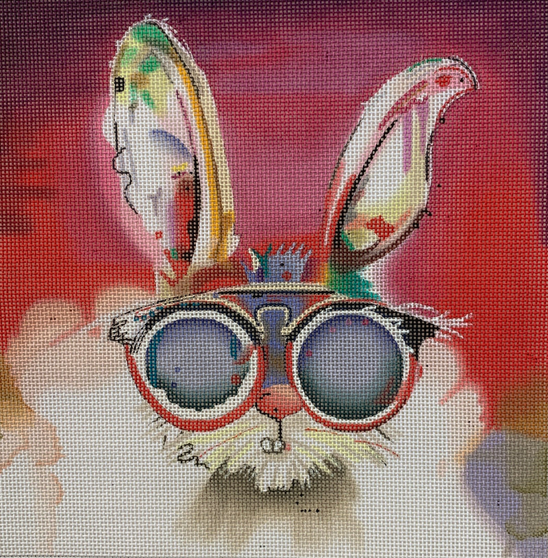 Rabbit with Sunglasses