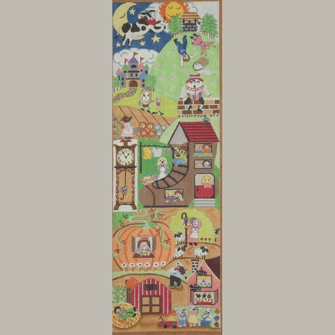 Nursery Rhyme Growth Chart