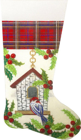Birdhouse Stocking