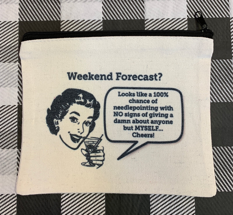 Small Pouch: weekend forecast