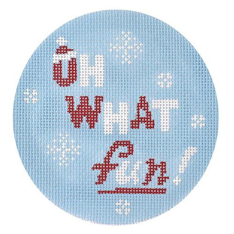 Seasons Greeting Rounds - Oh What Fun! BB 6135