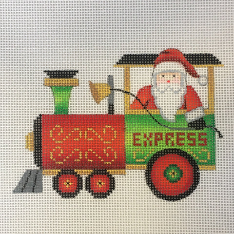 Train - Engine with Santa