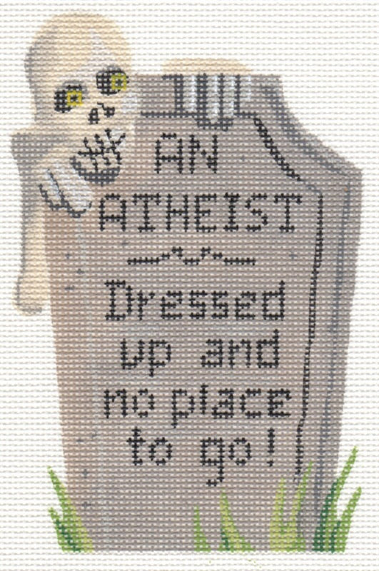 Tombstone An Atheist LL502