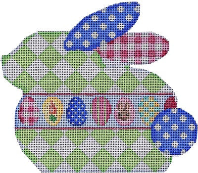 Green Lattice Bunny