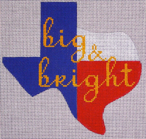 Texas State Ornament - Big & Bright T101A