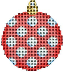 Coral Coin Dot Mini Ball