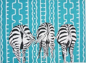 Zebra Butts C-460c