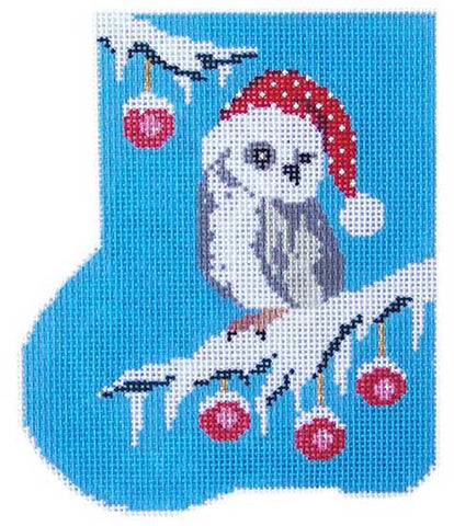 Have an Owly Christmas Mini-Sock