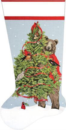 Bear Tree Stocking