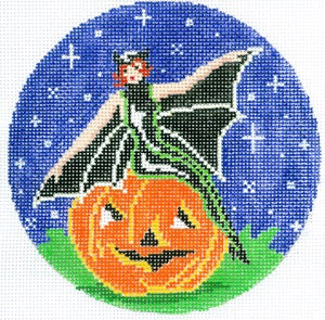 Witch on a Pumpkin XO-190p