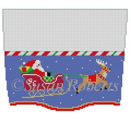 Stocking Topper, Sleigh Ride