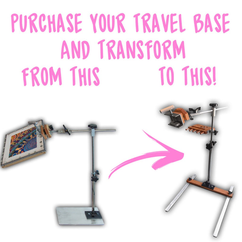 Travel Base for Swivel Ball Stand