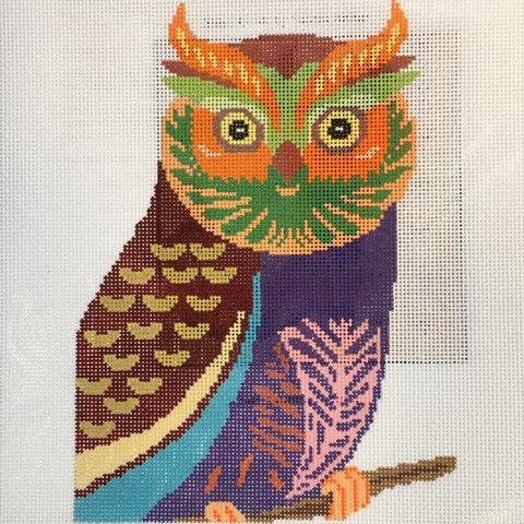 Colorful Owl (Patt-97-18m)