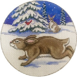 Bunnies Ornament
