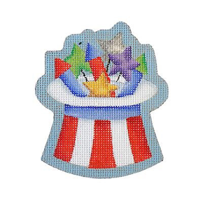 Americana - Top Hat with Fireworks BB 6153