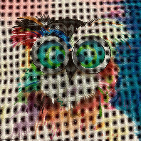 Owl with Goggles