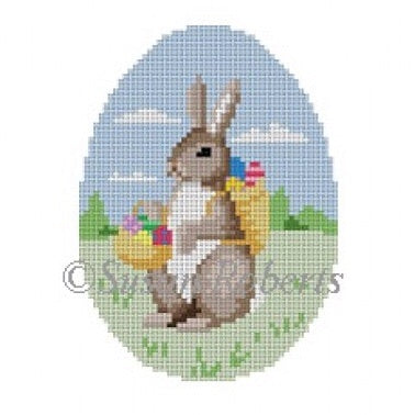 Rabbit w/ Egg Basket, egg 443