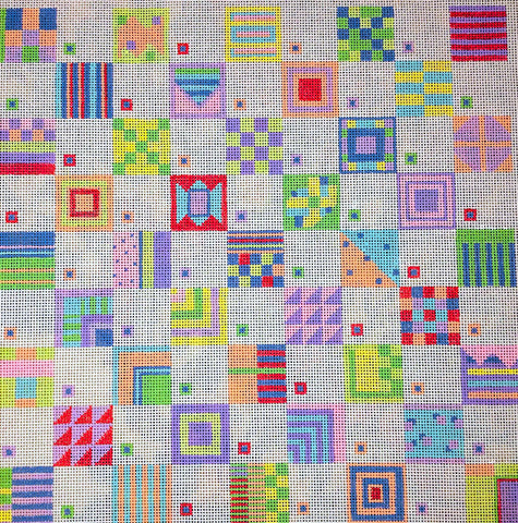Penny Macleod:PM1052 Happy Pattern 10x10 18M
