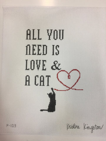 All You Need is Love and A Cat KKP103