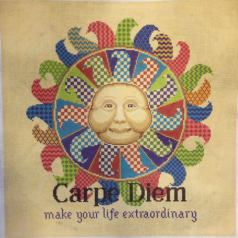 Carpe Diem with lettering