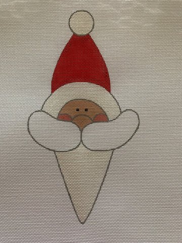 Snow Cone Santa (includes Stitch Guide by Janet Casey)