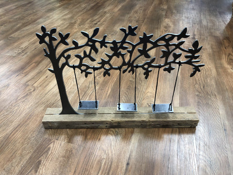 Metal Display Tree for Swingset Characters