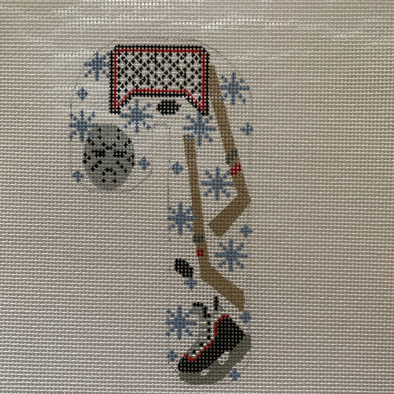 Hockey Candy Cane