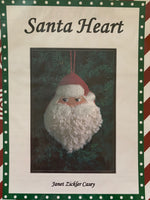 Santa Heart (includes Stitch Guide by Janet Casey)
