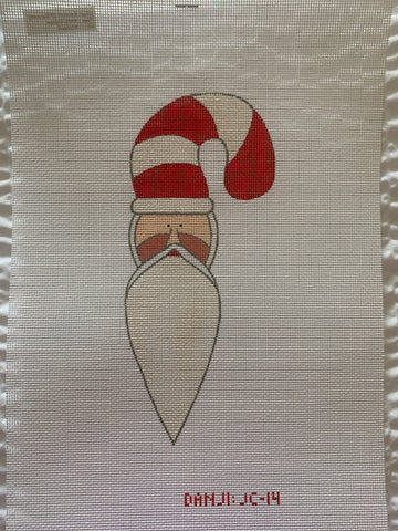 Candy Cane Santa (includes Stitch Guide by Janet Casey)