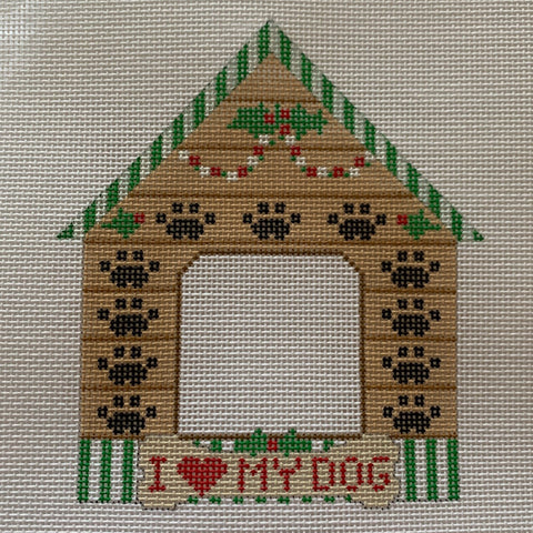 I Love My Dog House Frame