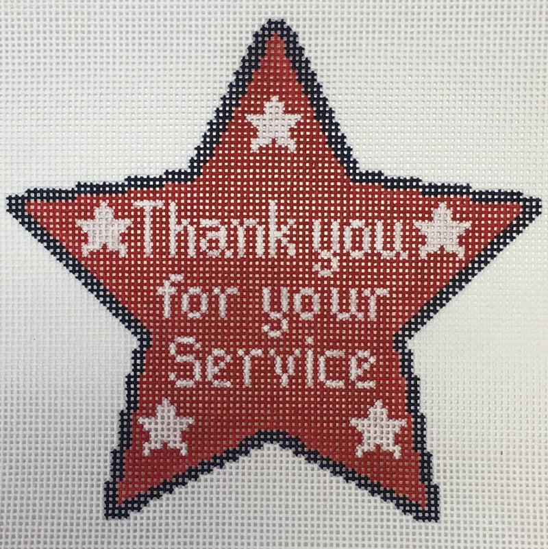 Thank you for your service - star