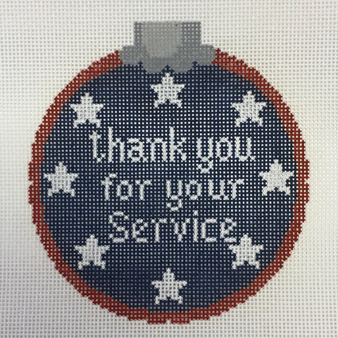 Thank you for your service - blue