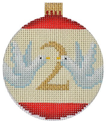 12 Days Bauble- 2 Turtle Doves