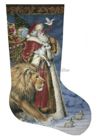 Santa Peace stocking