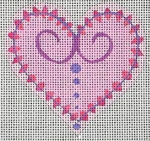 Little Heart - BeStitched Needlepoint