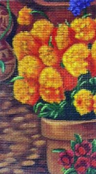 Marigold - BeStitched Needlepoint