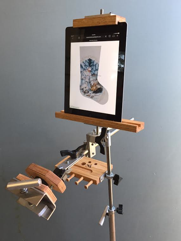 K's Metal Frame Tablet Holder - BeStitched Needlepoint