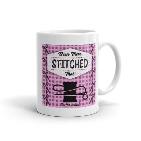 Been There Stitched That Mug