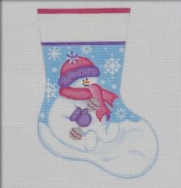 Snowbaby Girl Mini Stocking