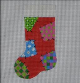 Patchwork Mini Stocking