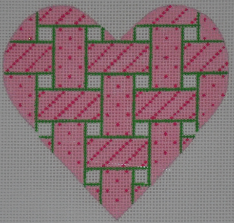 Mini Heart Woven Ribbons