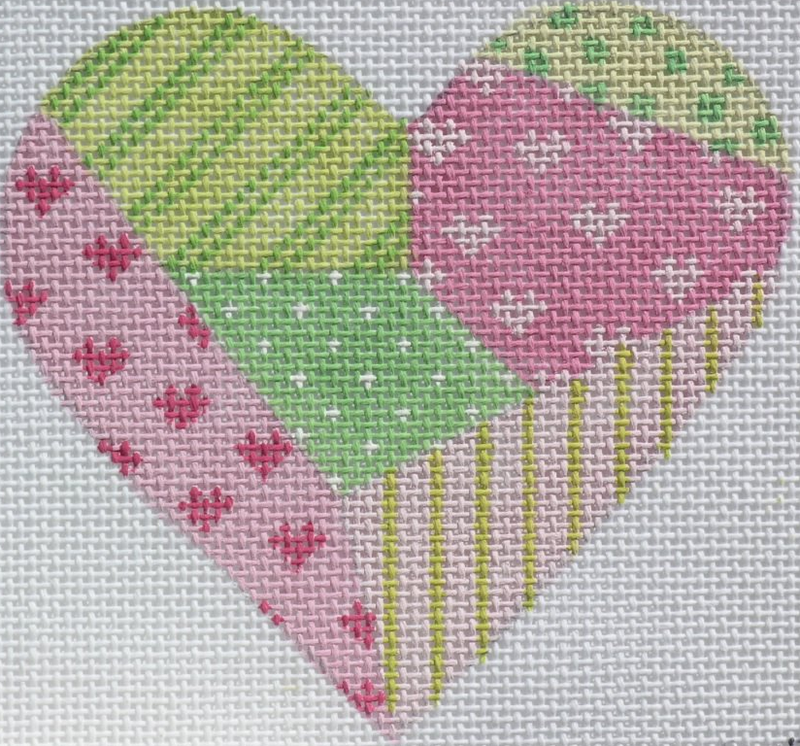 Patchwork Mini Heart