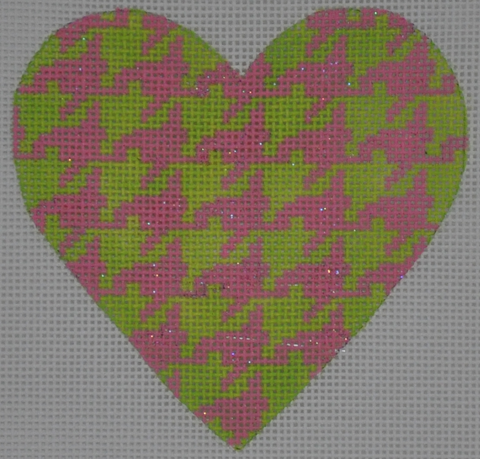 Mini Heart Houndstooth