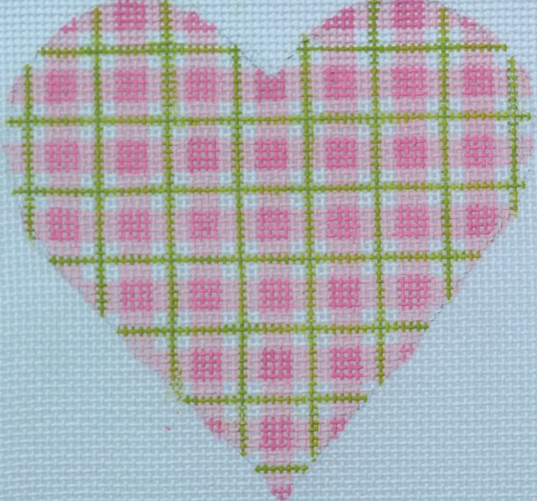 Plaid Mini Heart