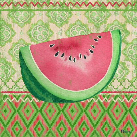 Fruit Ikat II